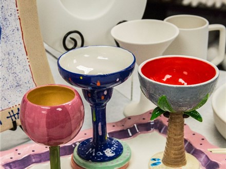 Margarita Glass - October 25th - Painting class at MARGARITAS Mexican Resaurant in Northborough