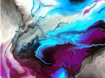 09/21 Acrylic Paint Pouring 2:30 PM $48