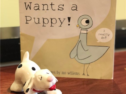 """Storytime """"The Pigeon Wants a Puppy!"""""""