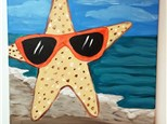 Kid's Canvas - Stylin Starfish