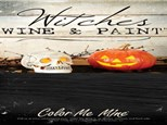 WITCHES WINE AND PAINT EVENT!