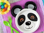 """"""" Animal Plate"""" To-Go Kit-  at Color Me Mine - Aspen"""