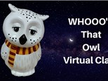 Whoooo's That Owl Virtual Painting Class