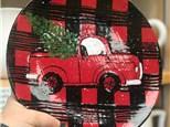 Vintage Truck Plate or Platter Adult Workshop - Dec. 7th