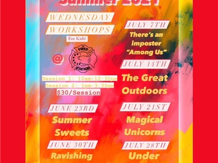 Magical Unicorns July 21st Afternoon Session-Wednesday Workshop