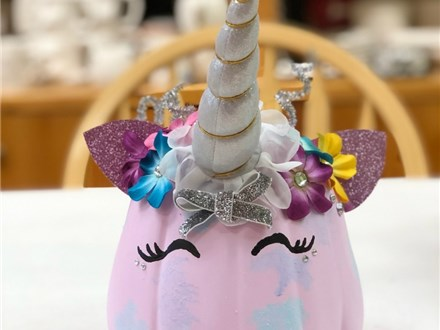 SOLD OUT Unicorn Pumpkin 2020 - Saturday, October 17th: 10am-12pm