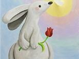 Adult Canvas - Fluttery Friend - 03.30.19