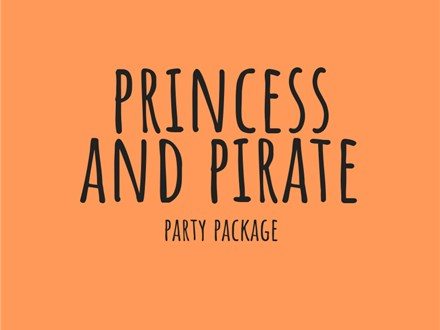 Princess and Pirate - Party Package
