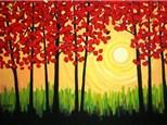 Fall Tree Canvas - October 23rd