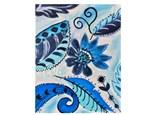 Blue Florals Paint Class - Perry