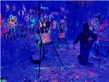 Medium Glow in the Dark Splatter Zone 2-10 people