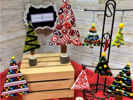 Fused Glass Christmas Tree Class