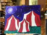Best Of Summer 2018! Circus Canvas & Popcorn Bowl