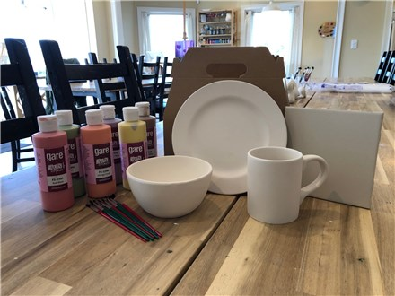 Pottery To Go- Dinnerware and Votives & Lanterns