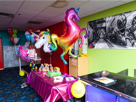 Birthday Party Package - At The Main