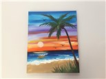 Tropical Paradise (Shelly E.) Canvas Class
