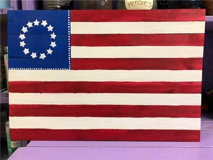 Board Art - Flag - June 30th 6pm