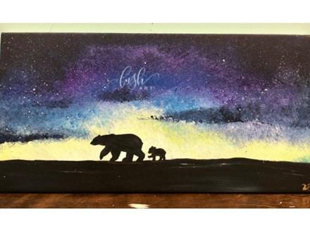 Polar Bear Paint Class