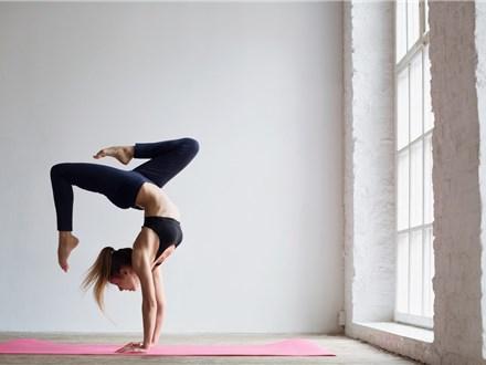 yoga and wine at glassybaby