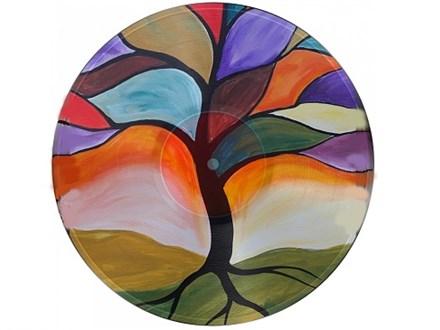 Autumn Tree - Vinyl Record - Paint and Sip