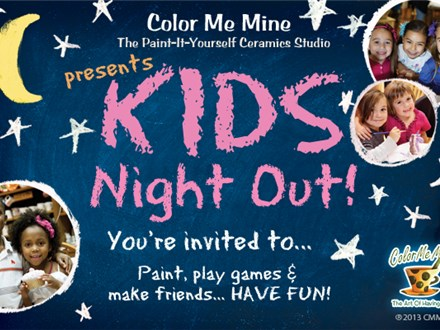 Kids Night Out! Friday, February 9th 2018