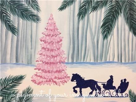 Evening Sleigh Ride Canvas Event