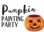 PUMPKIN PAINING PARTY