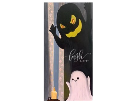 Friendly Ghost Paint Class