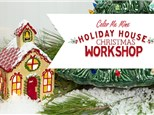 Holiday House Family Workshop: Wednesday, December 4th 5:30PM-8:00PM