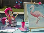 Adult Canvas - Flamingo - Evening Session - 03.01.19