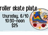 Pottery Patch Camp Thursday, 6/10 POTTERY: Roller Skate Plate