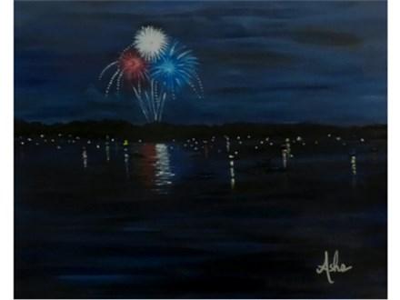 Lake Celebration (16x20)