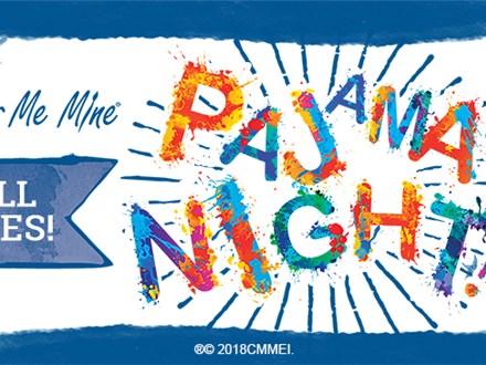Oct 18th • Pajama Night • Color Me Mine Aurora