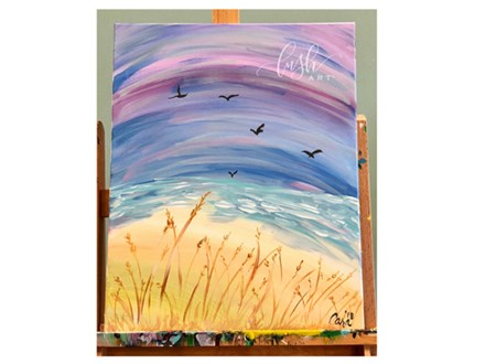 Beach Sunset Paint Class