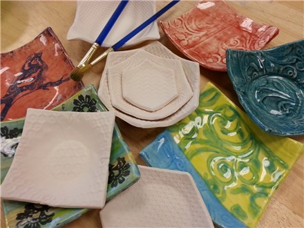 CLAY Make Small Dishes - Tues. June 23 630pm