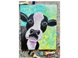 Cow Paint Class - Perry
