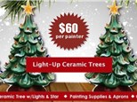 Theresa's Christmas Tree Painting Party-PRIVATE PARTY