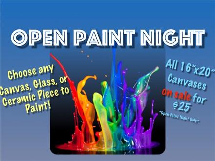 Open Paint Night - 01.24.17