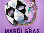 Mardi Gras Mask! - Feb, 28th