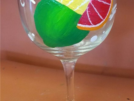 Ladies Night Out - Wine Glass Painting - 06.16.17