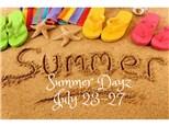 Summer Art Camp Deposit July 23-27