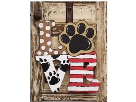 Puppy Love Door Hanger Paint Class