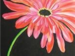 Adult Canvas Night June 4th Blush Shasta Daisy