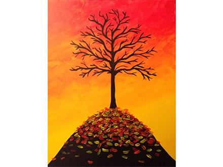 Mimosa Morning - Autumn Falls
