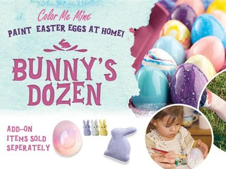 Bunny's Dozen Egg Painting Kit