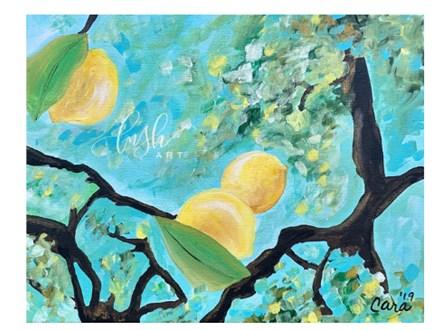 Lemons Paint Class
