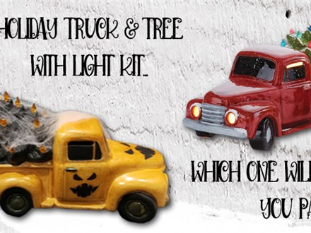 Holiday Truck and Tree Workshop