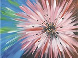 Day Time Painting - Flower Burst