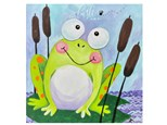 Frog Paint Class - Perry