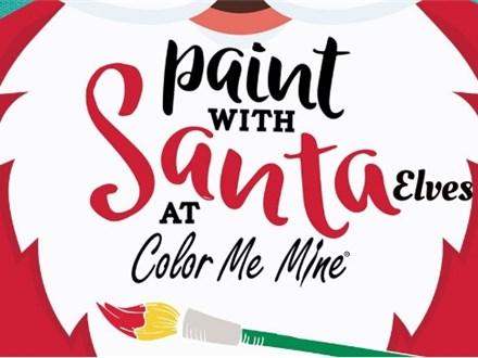 Paint with Santa Elves